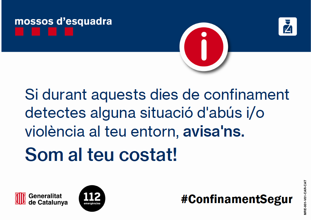 campanya #ConfinamentSegur