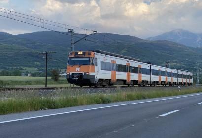 Tren per la línia de Rodalies 3 el passat dissabte 30 de maig (Foto: IST).