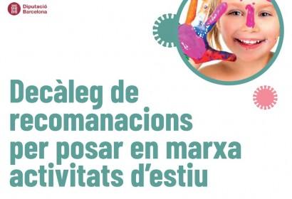Publicat un marc d'orientació per a l'organització d'activitats d'estiu (Foto: DIBA).