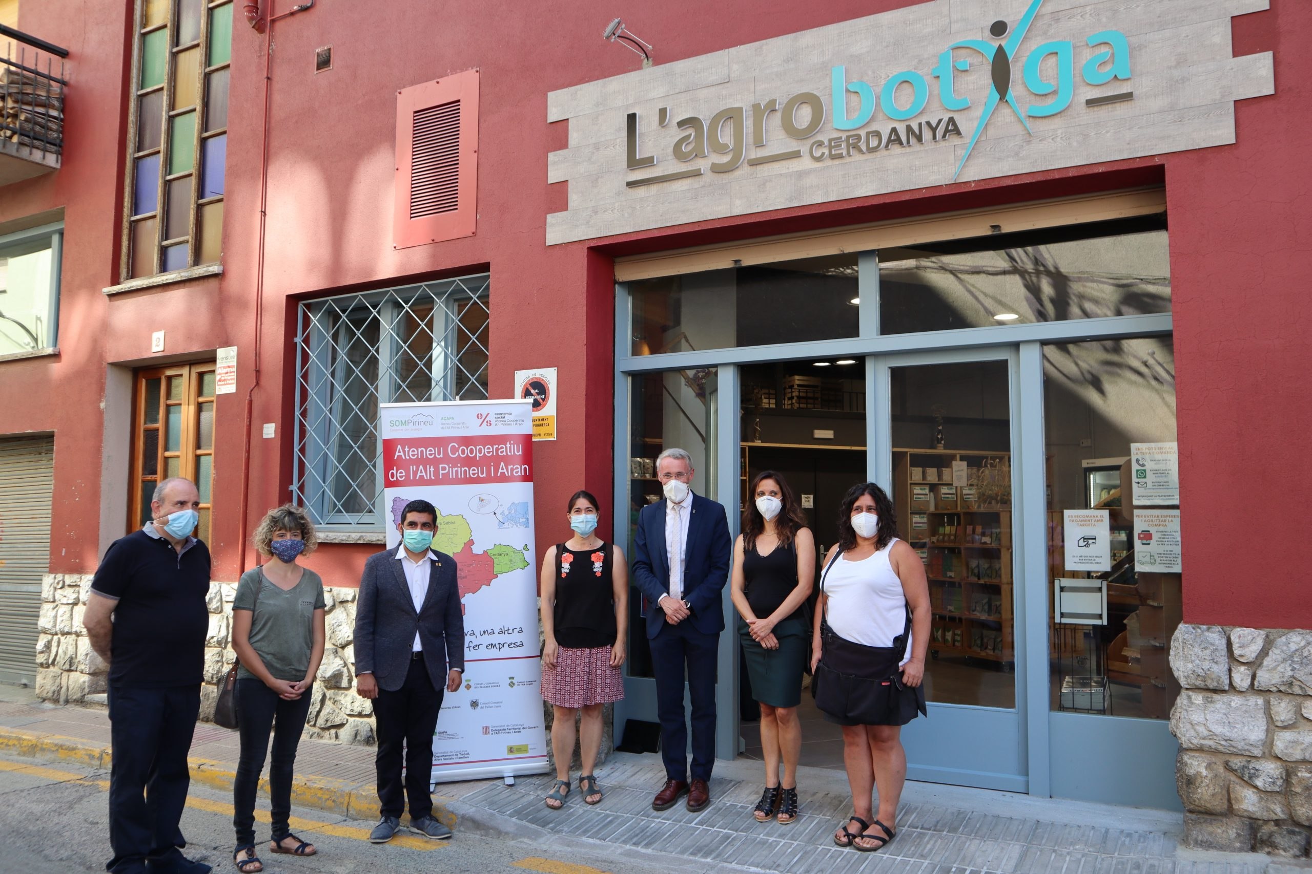 Visita a l'Agrobotiga de Puigcerdà i a la Fundació Adis