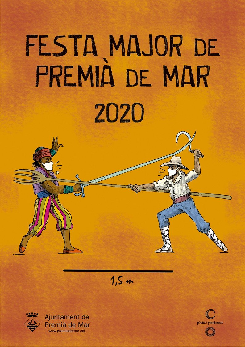Samarretes de la Festa Major de Premia de Mar via online
