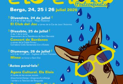 Berga celebrarà la festa d'Els Elois postconfinats