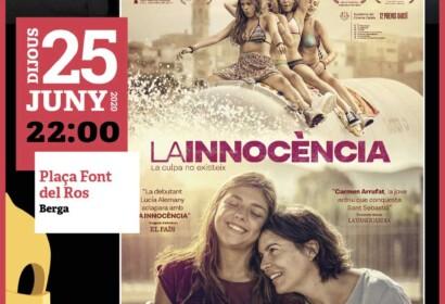 Berga acollirà una sessió de cinema a la fresca del Cicle Gaudí amb la projecció de la pel·lícula 'La Innocència' el 25 de juny