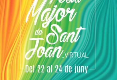 Cartell de la Festa Major de Sant Joan virtual a Vilassar de Mar