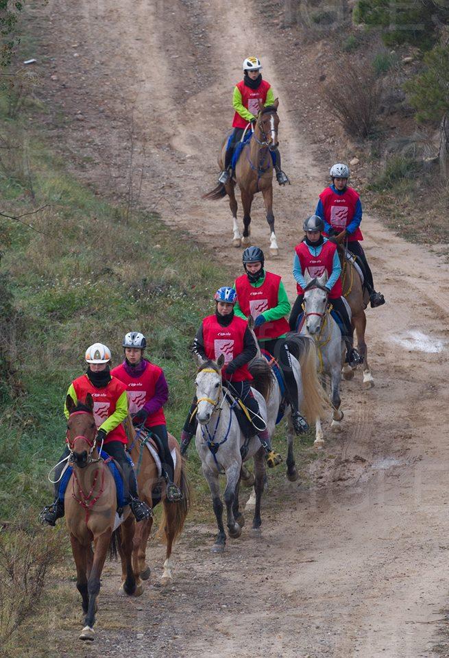 ruta a cavall Puig-Reig