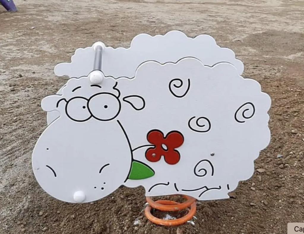 molles amb forma d'ovella
