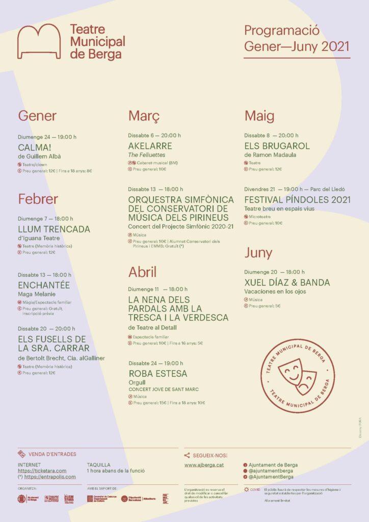 Programació Teatre Municipal de Berga