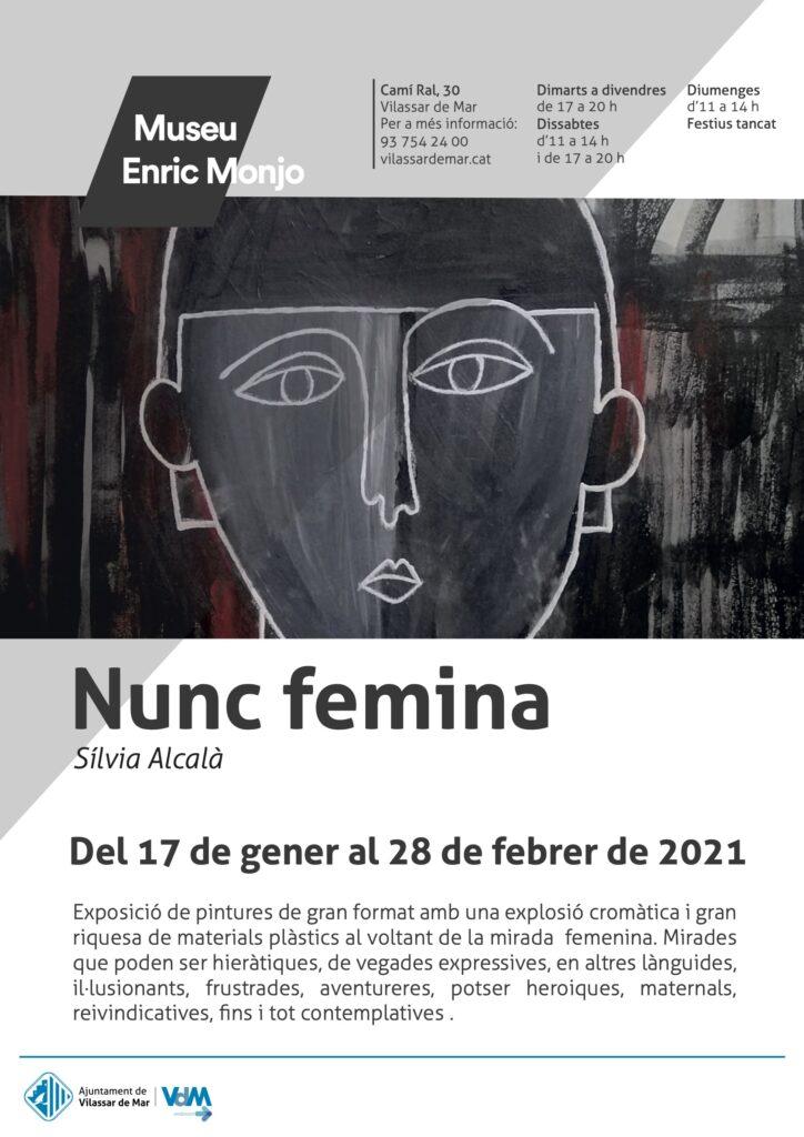 """Exposició """"Nunc femina"""" de Sílvia Alcalà"""