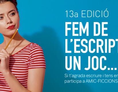 13a edició del concurs literari AMIC-Ficcions