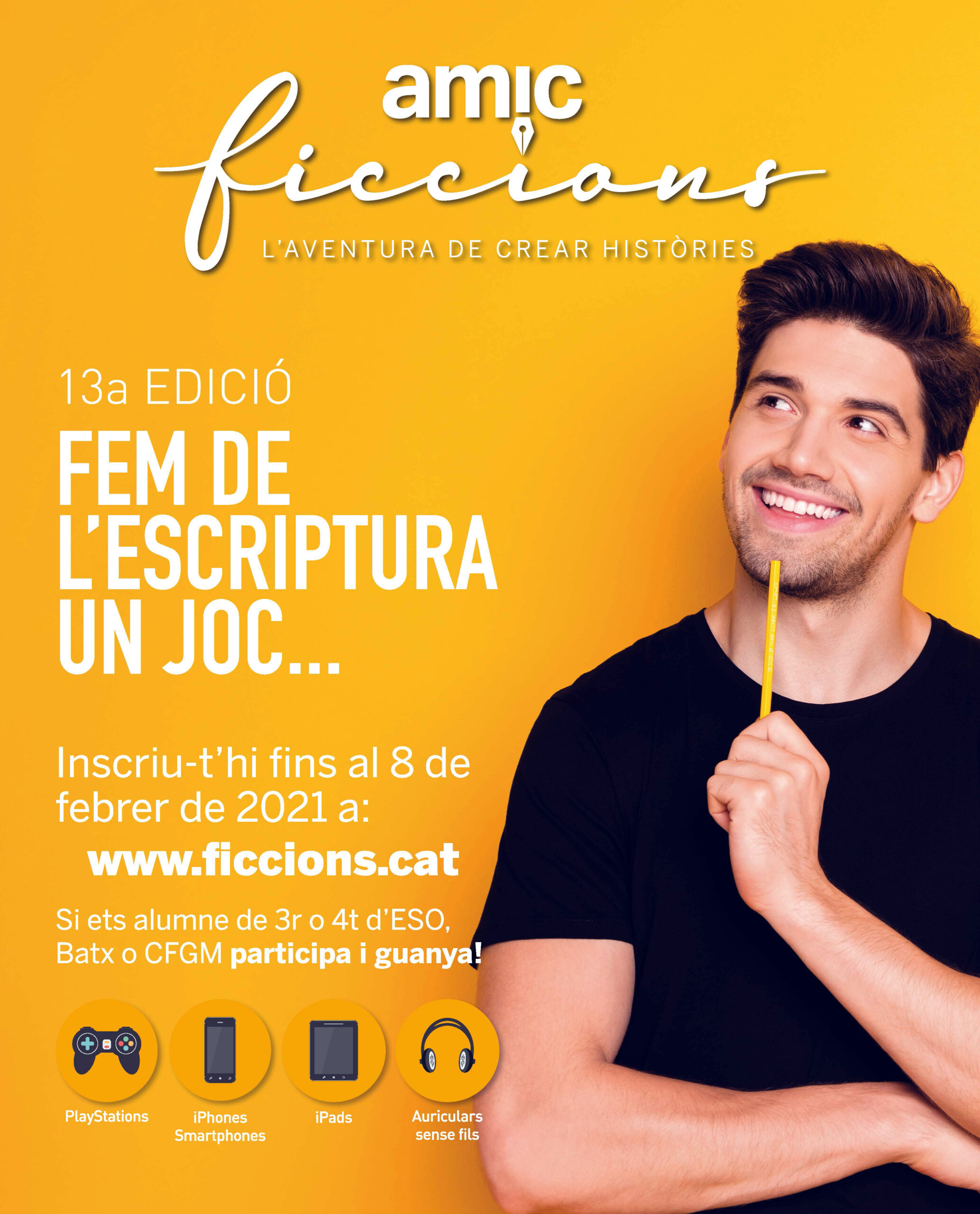 13 edició del concurs literari AMIC-Ficcions