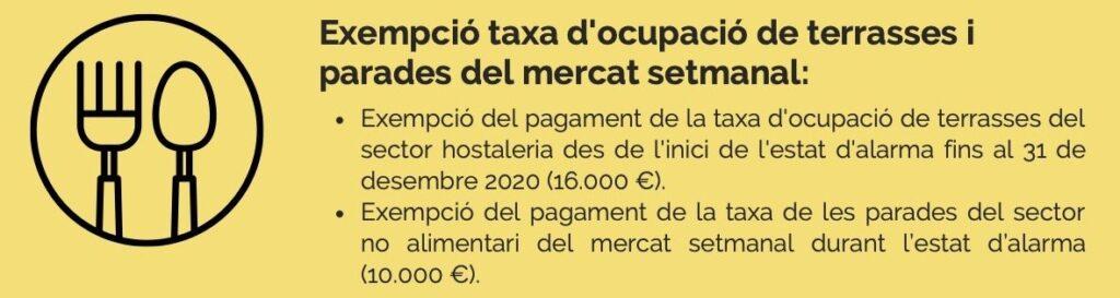 L'Ajuntament de Berga inverteix 188.000 € per revertir l'afectació de la Covid-19