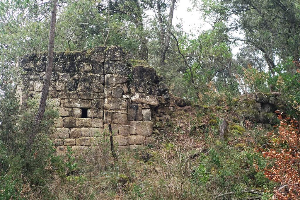 Santa Margarida de Tortafè - Reste de l'església