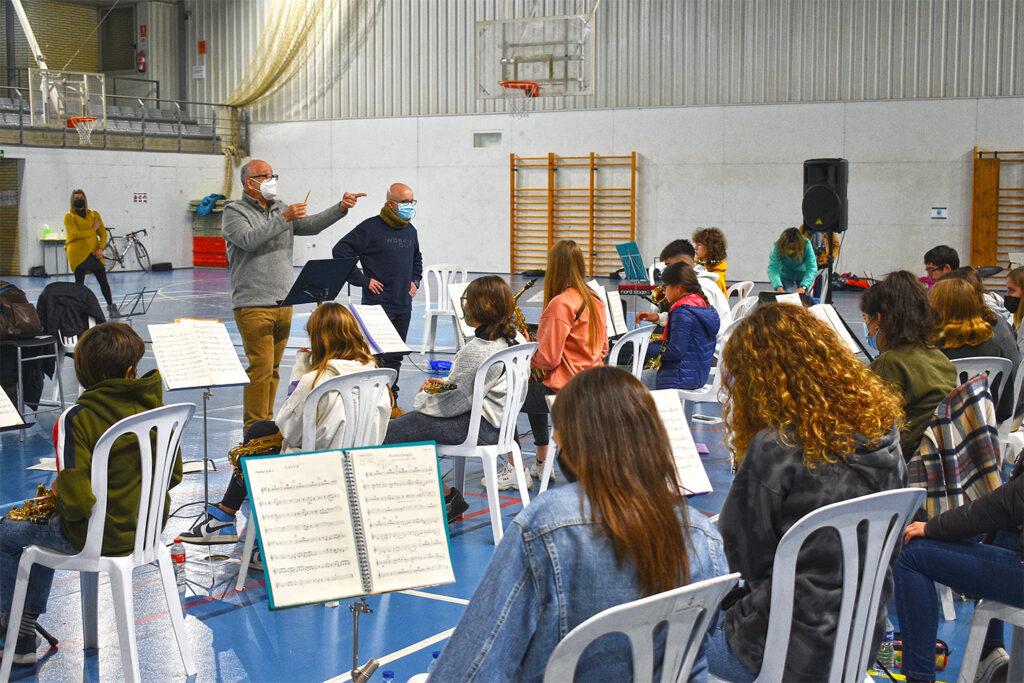 Jazzband Navàs-Súria i Emilio Solla