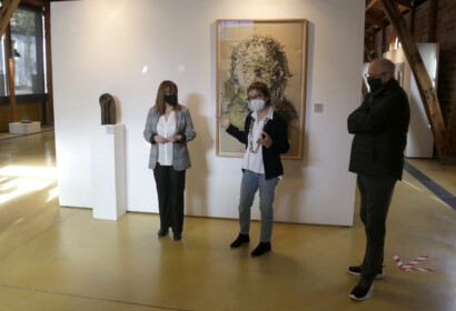 La Nau Gaudí acull la darrera exposició de l'art contemporani del segle XX de la Col·lecció Bassat
