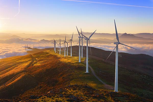 Parc eòlic - energia verda