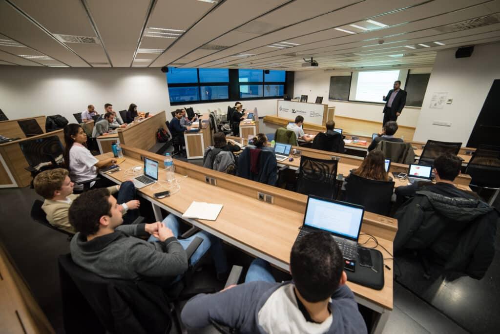 Estudiants al TecnoCampus
