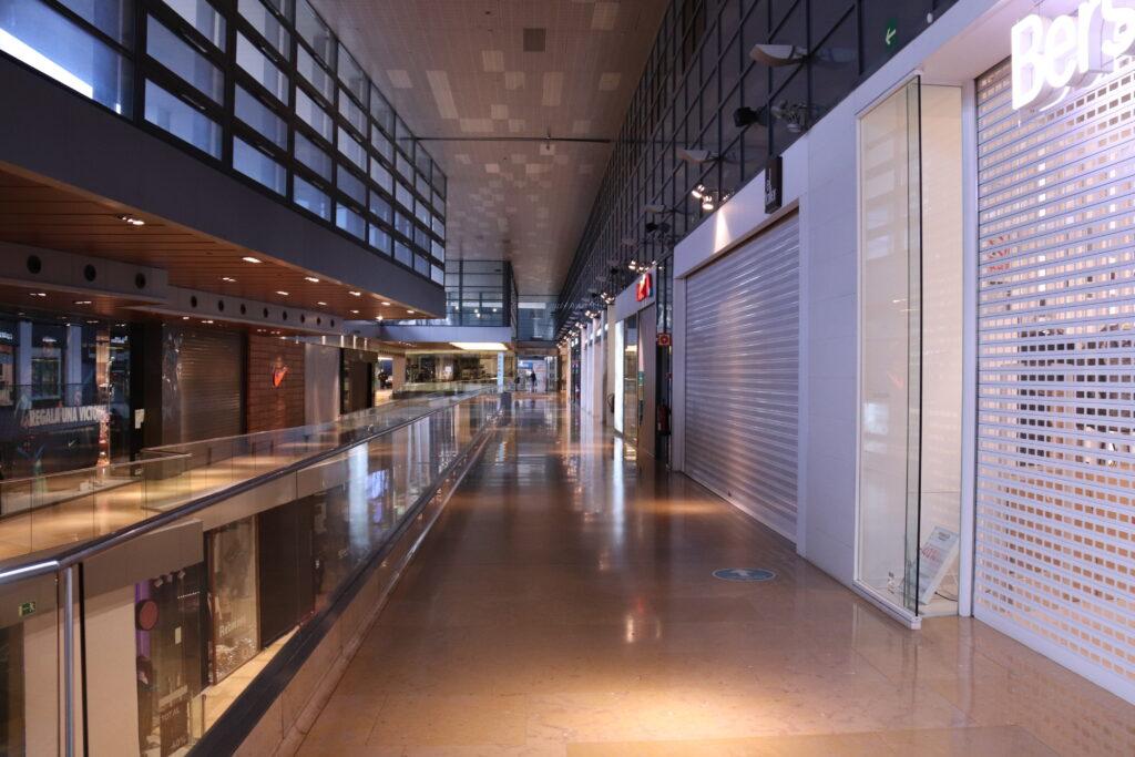 Centres comercials buits