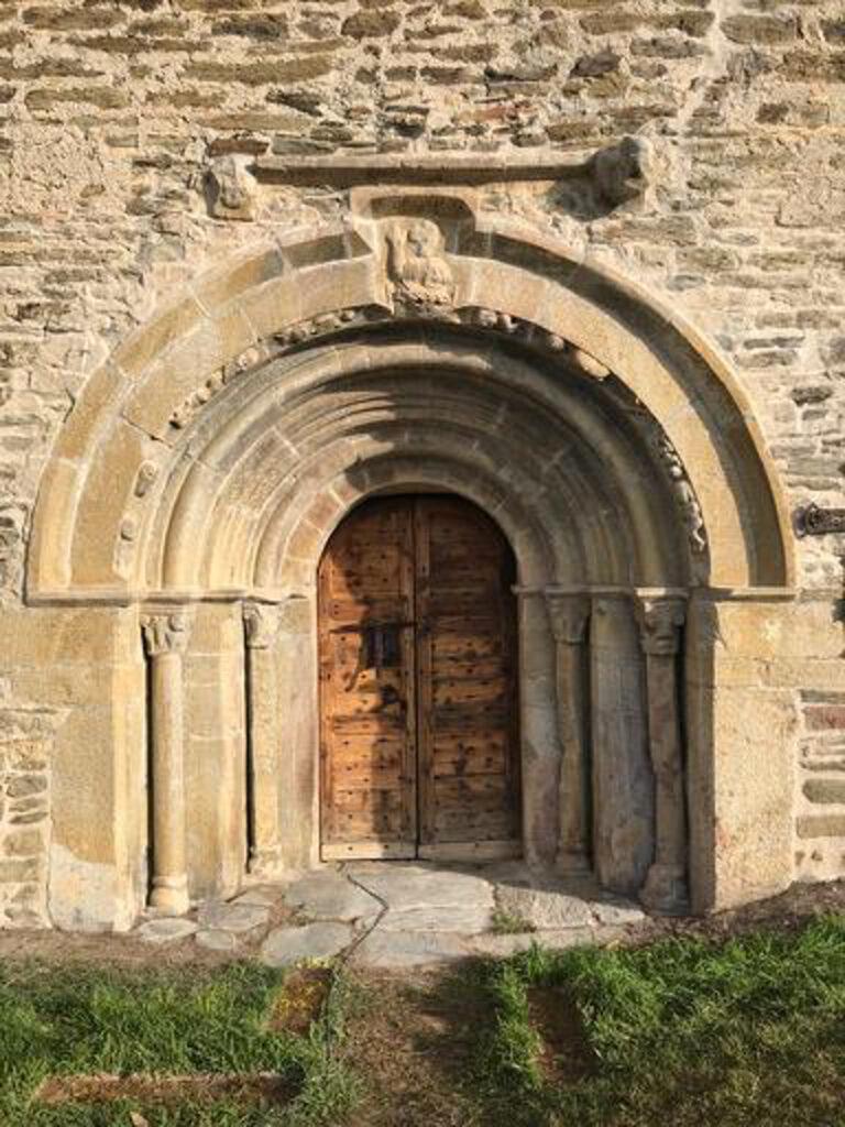 Restauració Santa Eugènia de Saga