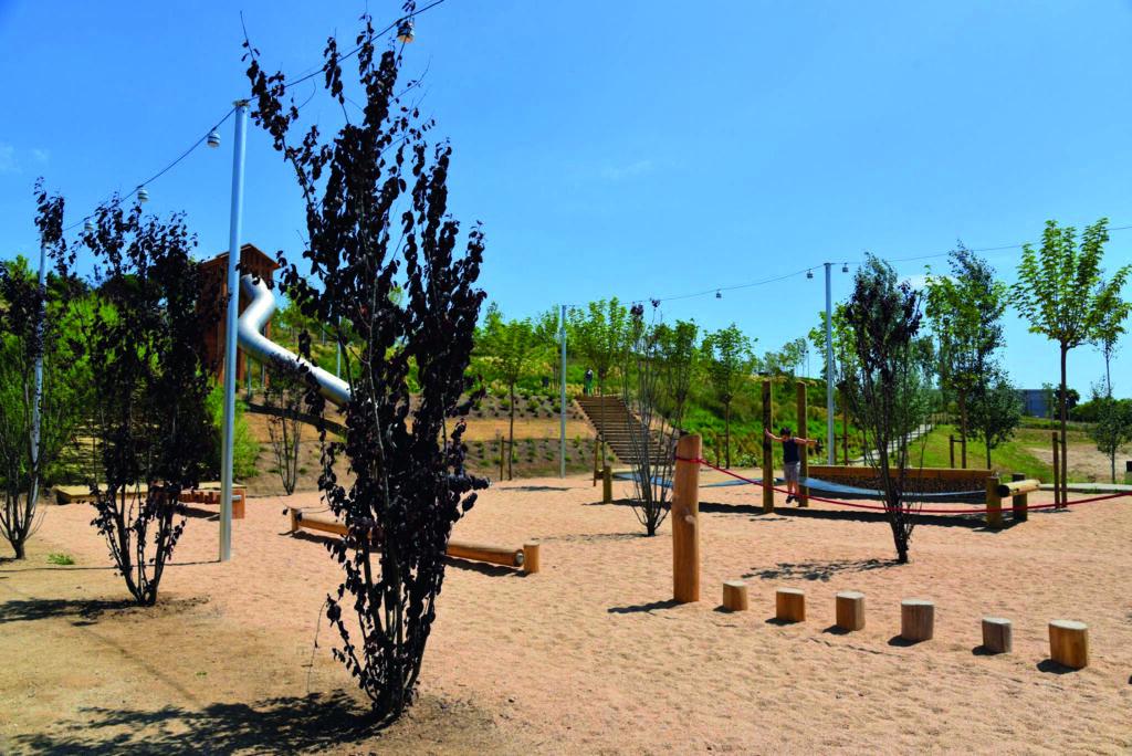 Parc Vallmora, d'El Masnou