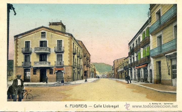 Carrer Llobregat a Puig-reig