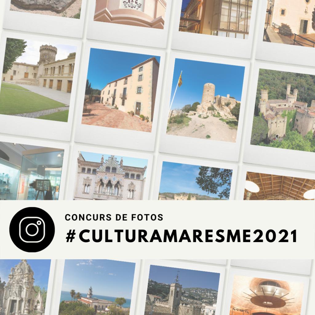Cartell concurs de fotos #culturamaresme