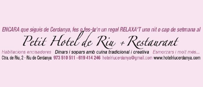 Petit Hotel de Riu