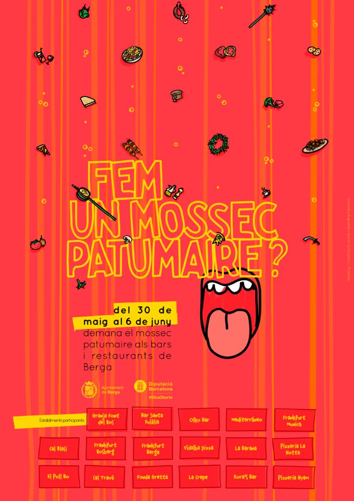 Cartell de 'Mossec Patumaire'