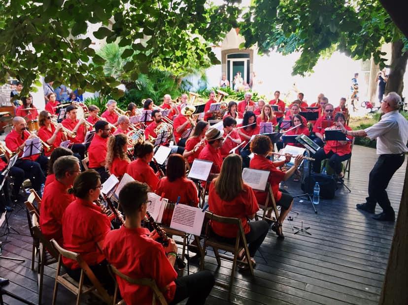 Fotografia de l'Agrupació Musical del Maresme