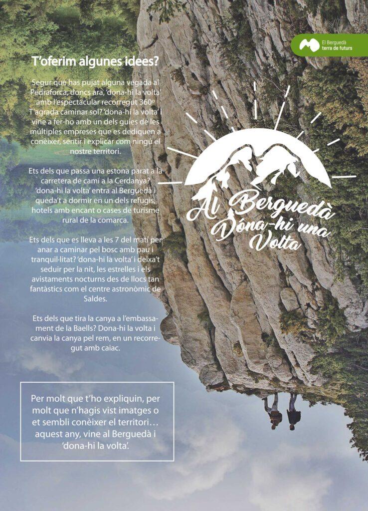 Cartell al Berguedà dóna-li una volta