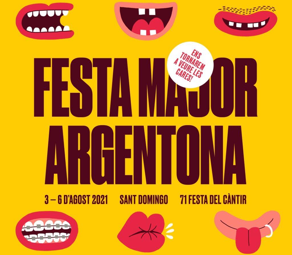 Espai Festa Major - Cartell de la Festa Major d'Argentona 2021