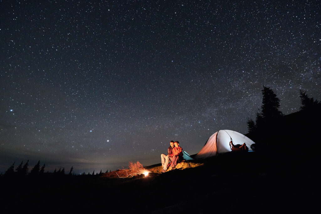 Passar una nit a l'aire lliure per poder parlar d'estrelles és una experiència única