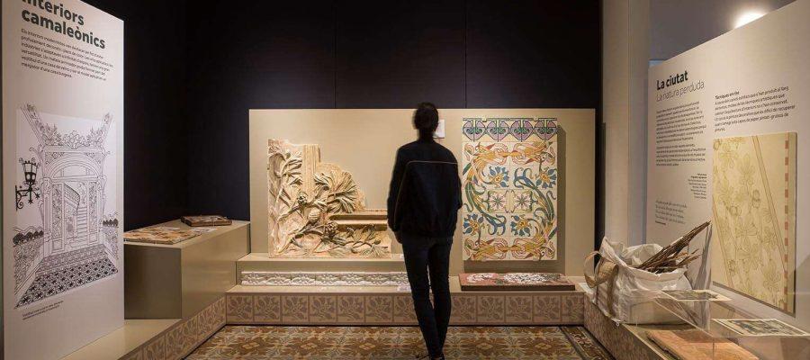 Expo El Modernisme i les flors_ Foto Eva Guillamet Cultura DIBA