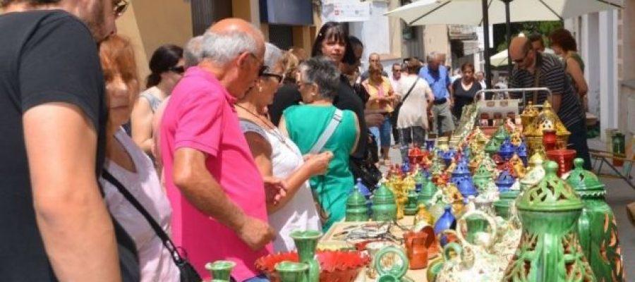 Imatge d'arxiu de la fira de la ceràmica que se celebra cada any a Argentona.
