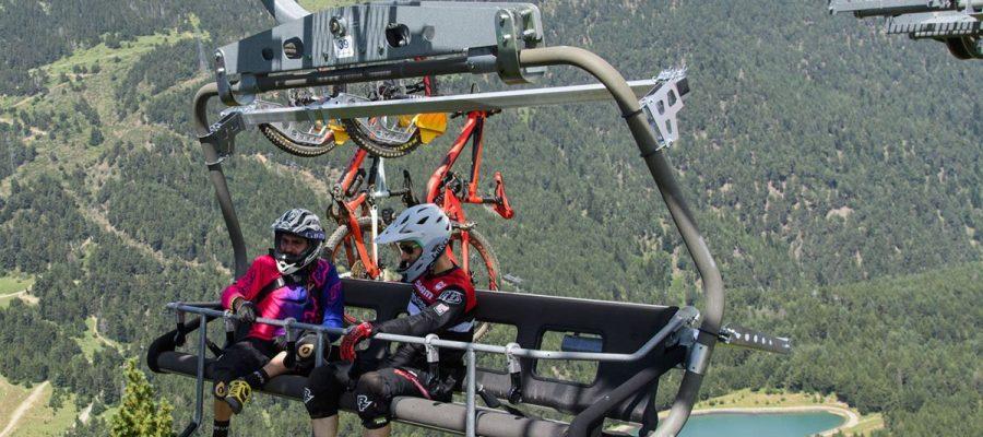El bikepark de La Molina començarà la temporada d'estiu en pocs dies (Foto: La Molina).