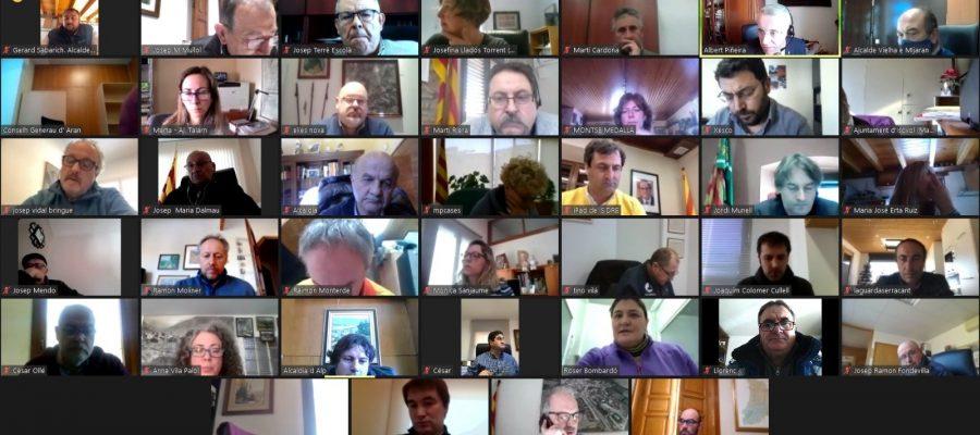 Els polítics del Pirineu i l'Aran articulen una repsosta conjunta per el COVID-19