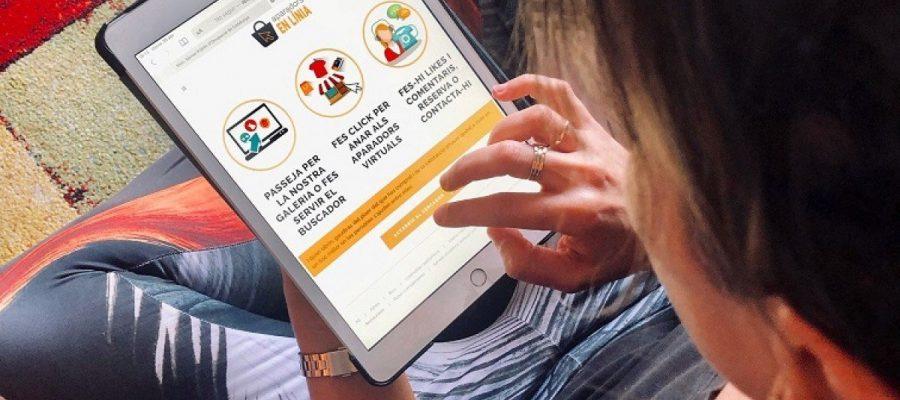 Un aparador online per ajudar el comerç