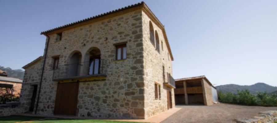 Casa de turisme rural al Berguedà (Imatge web Casa de Turisme Rural).