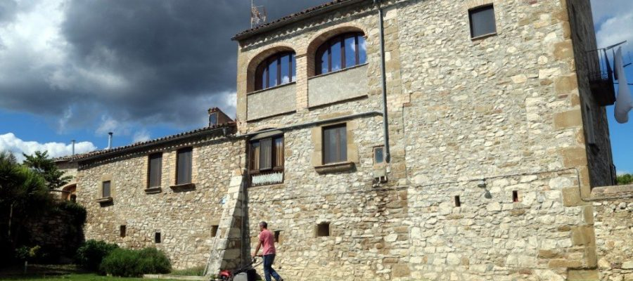Casa de turisme rural Torrecabota de Calders (Bages) imate d'arxiu ACN