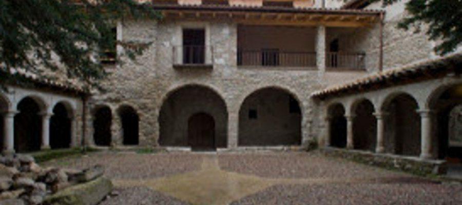 Comença la tercera fase de rehabilitació del Monestir de Sant Llorenç de Morunys que durarà sis mesos (Foto: ACN).
