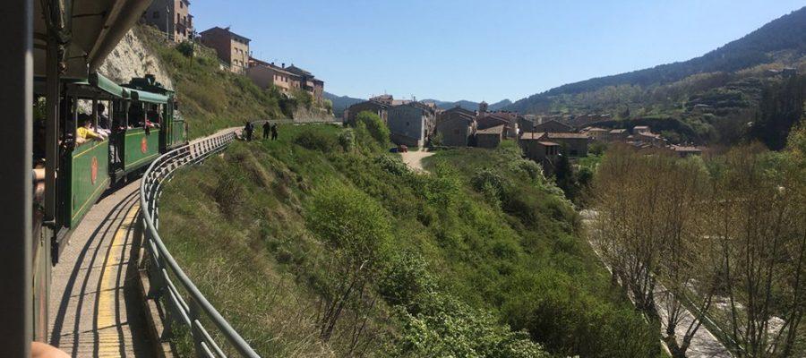 Turistes a les Fonts del Llobregat