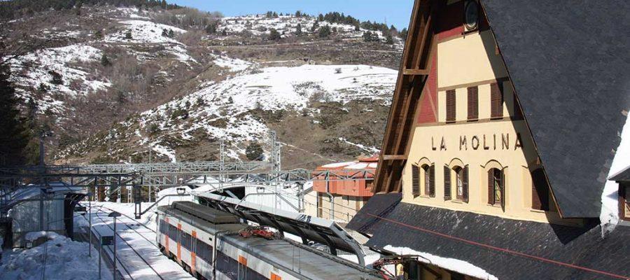 Estació de tren de La Molina